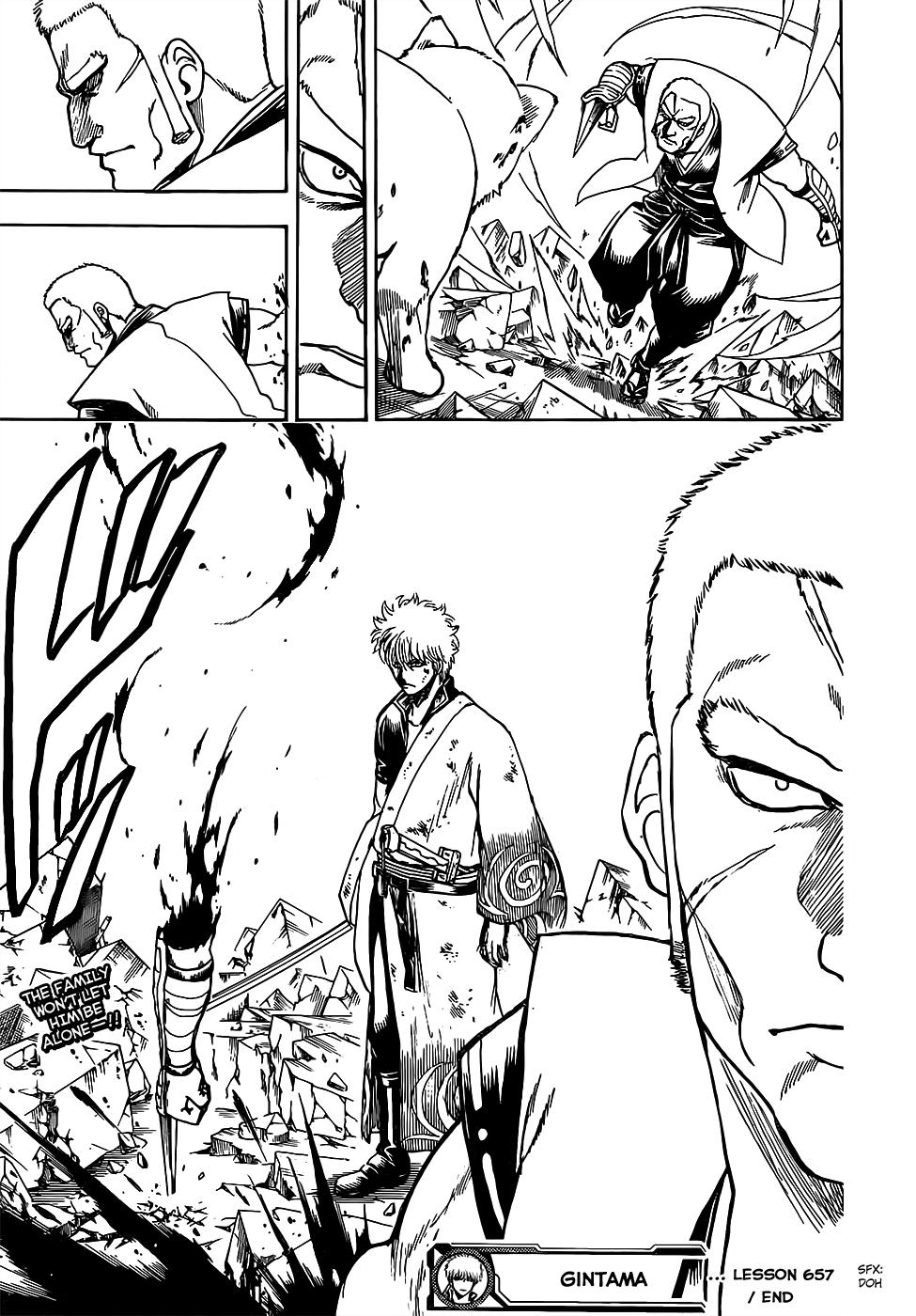 Gintama Chapter, 657 image 018