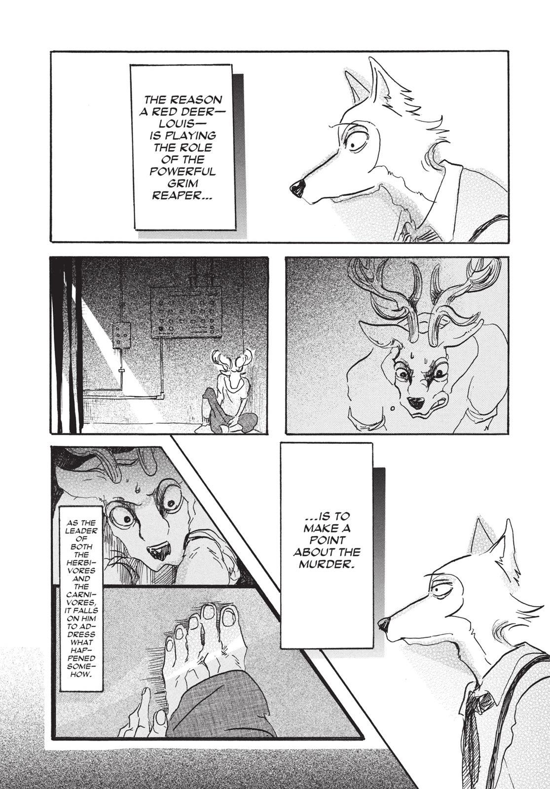 Beastars Manga, Chapter 7 image 014