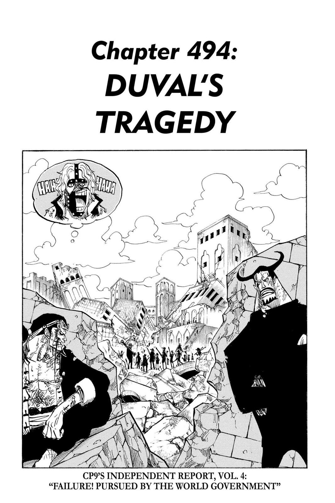 One Piece, Chapter 494 image 001