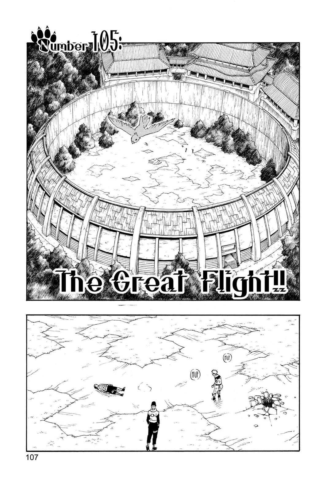Naruto, Chapter 105 image 001