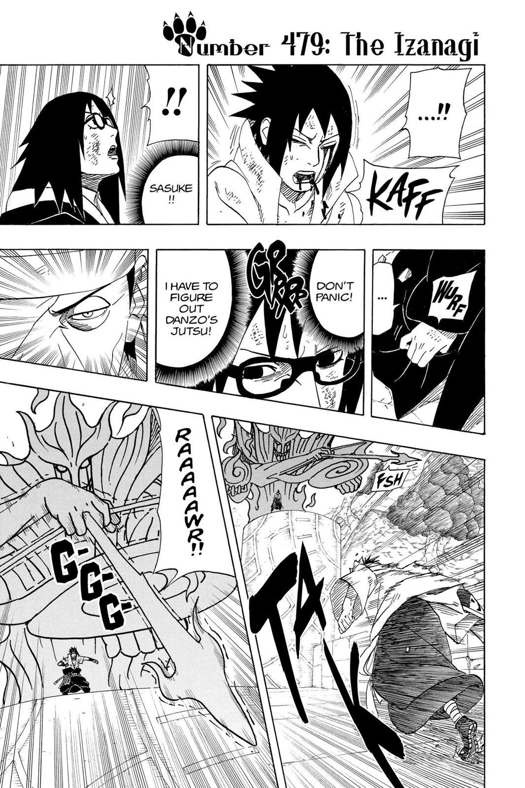 Naruto, Chapter 479 image 001