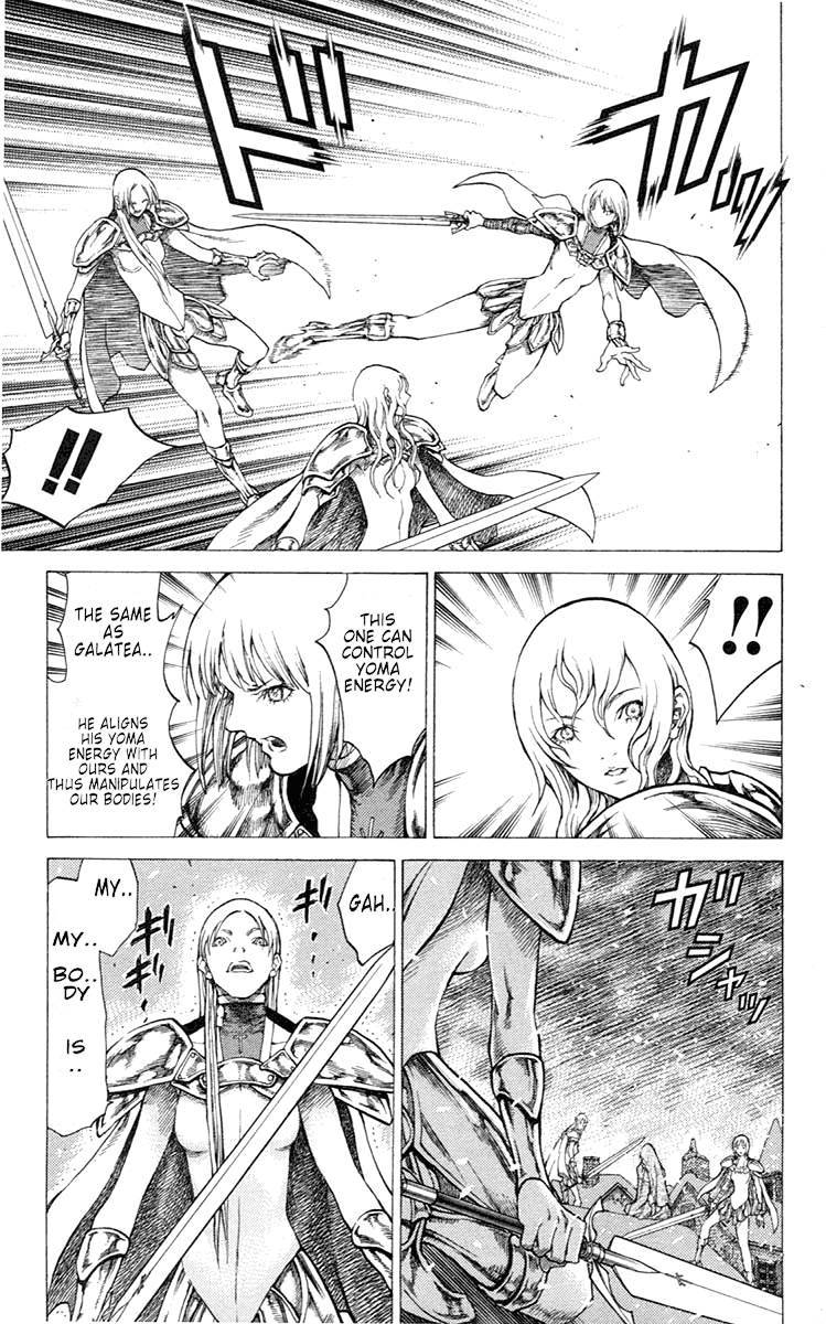 Claymore, Chapter 52 image 028