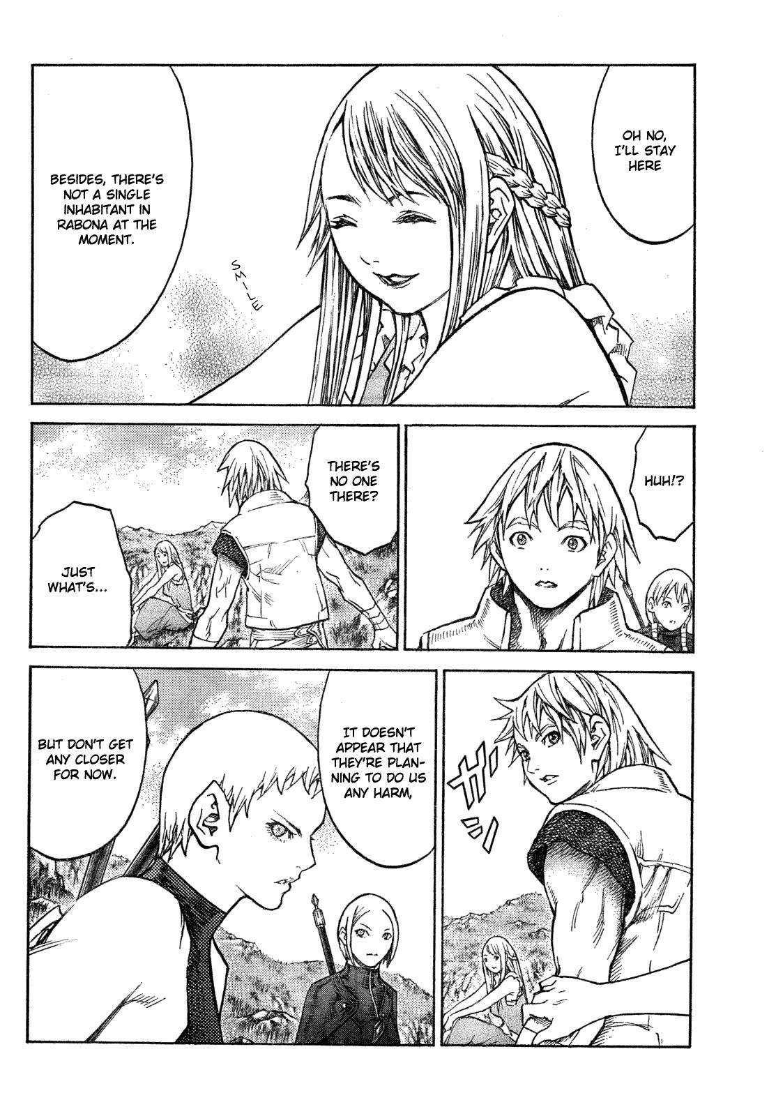 Claymore, Chapter 128 image 005