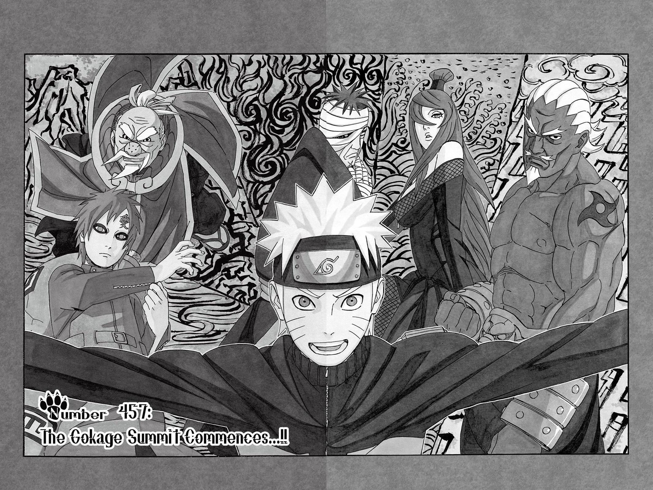 Naruto, Chapter 457 image 001