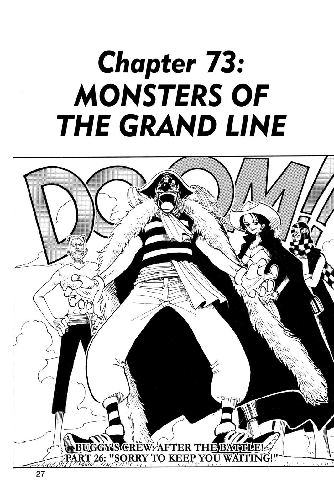 One Piece, Chapter 73 image 001