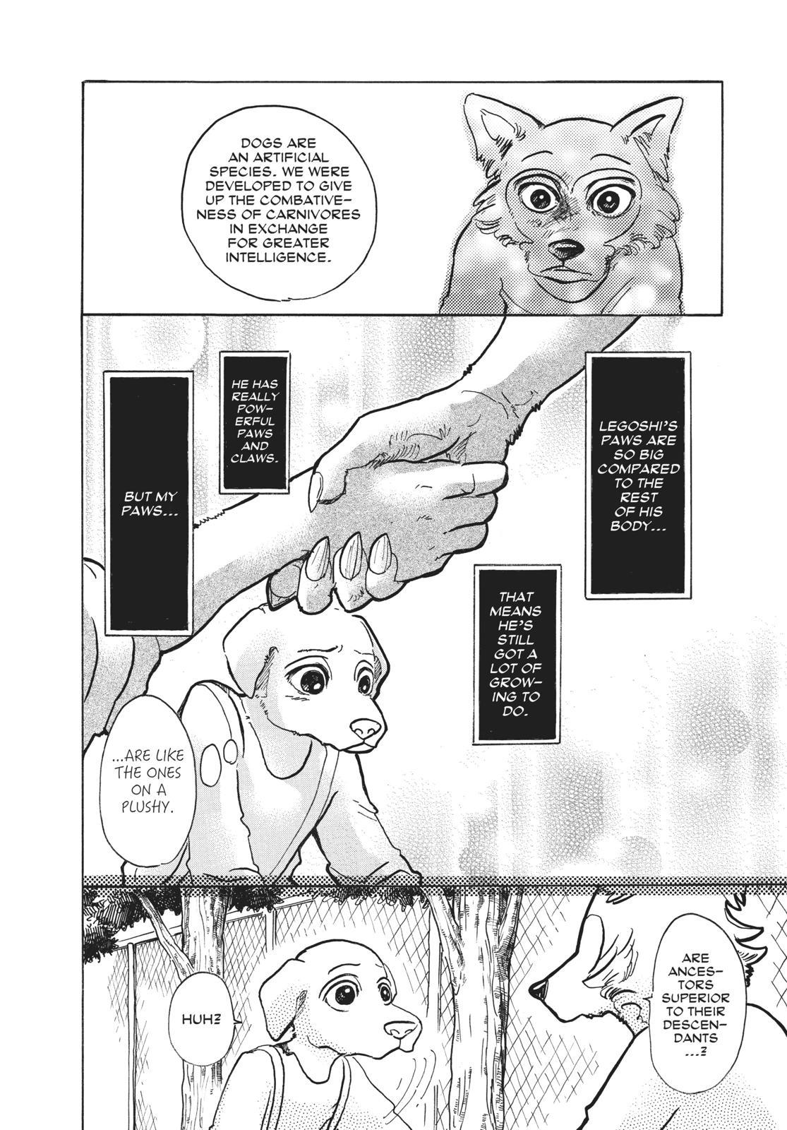 Beastars Manga, Chapter 49 image 012