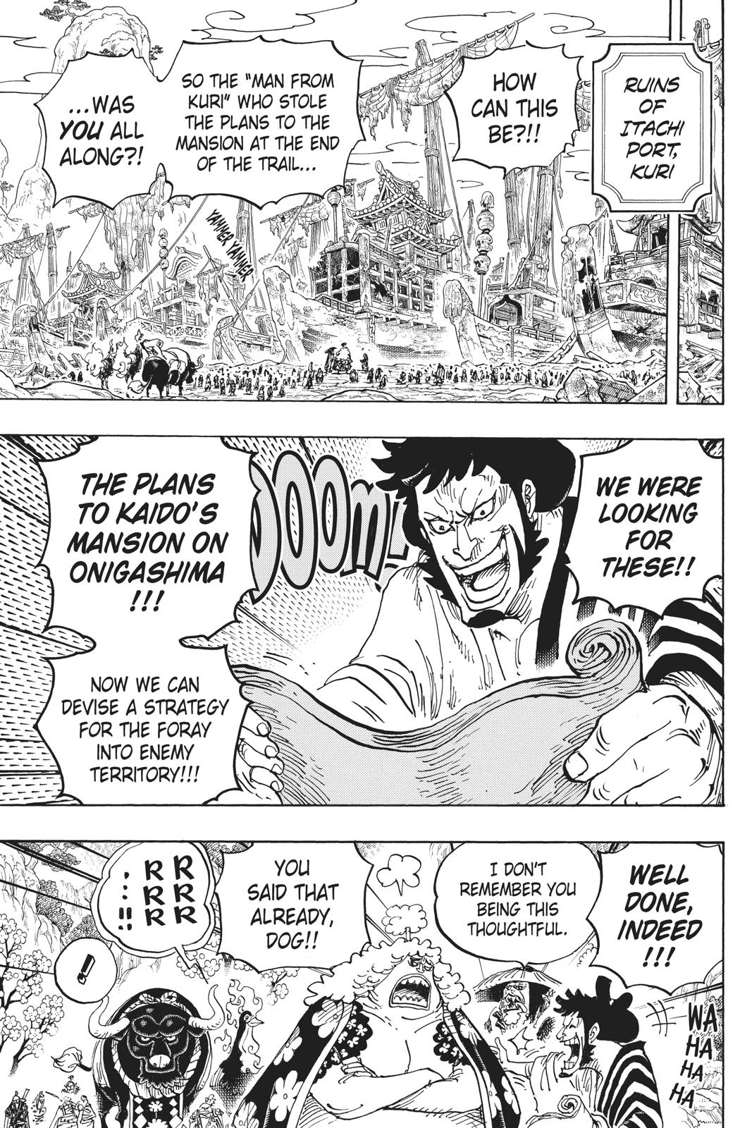 One Piece, Chapter 952 image 011