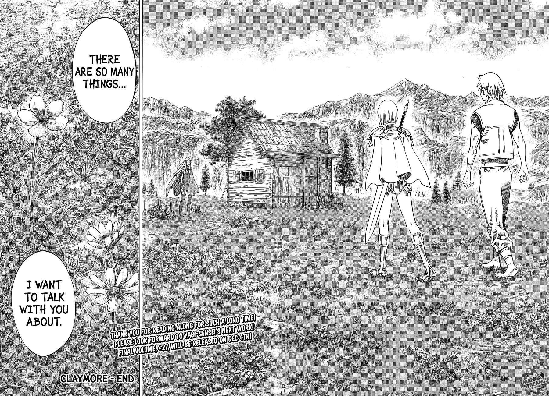 Claymore, Chapter 155 image 027