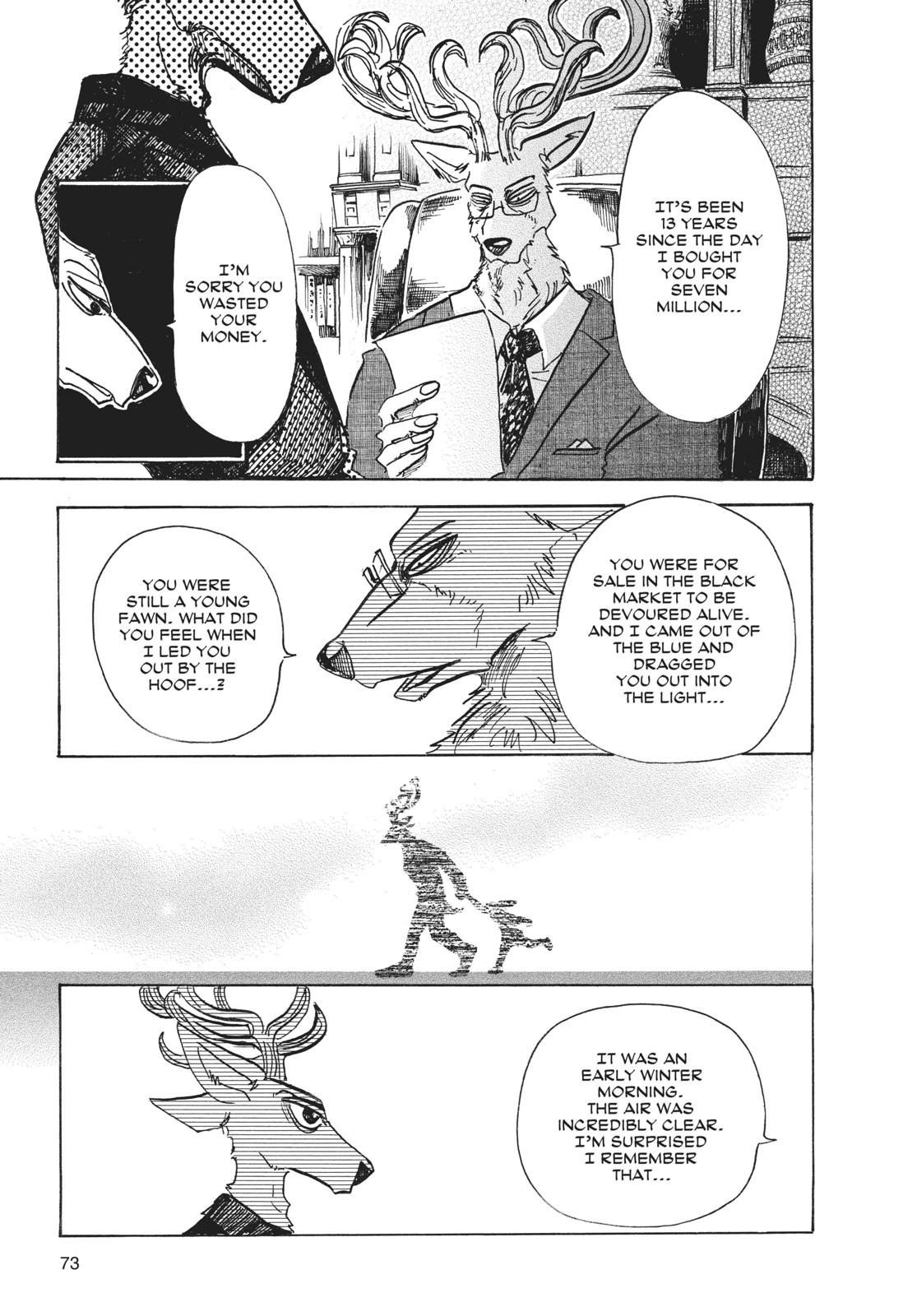 Beastars Manga, Chapter 65 image 005