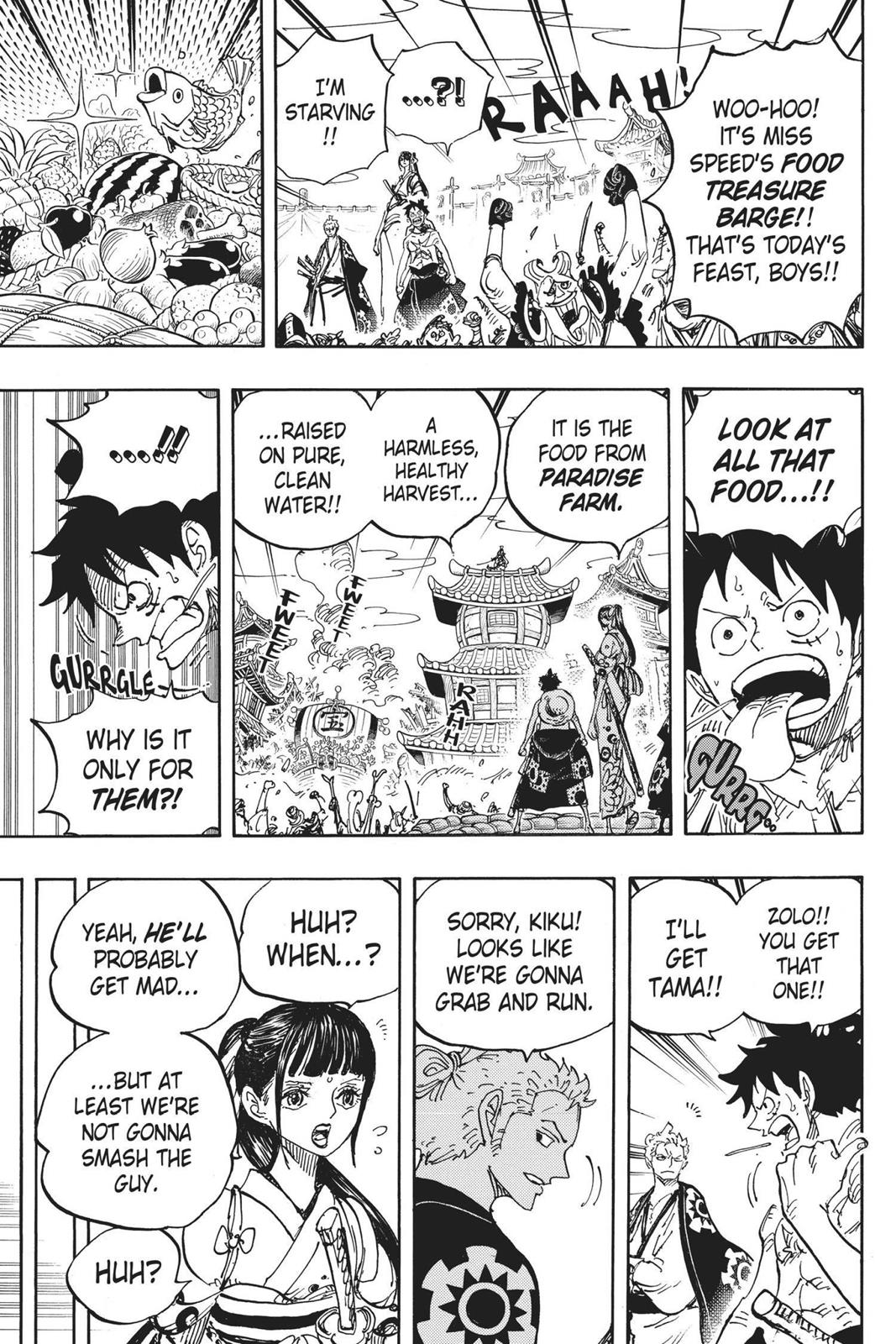 One Piece, Chapter 917 image 011