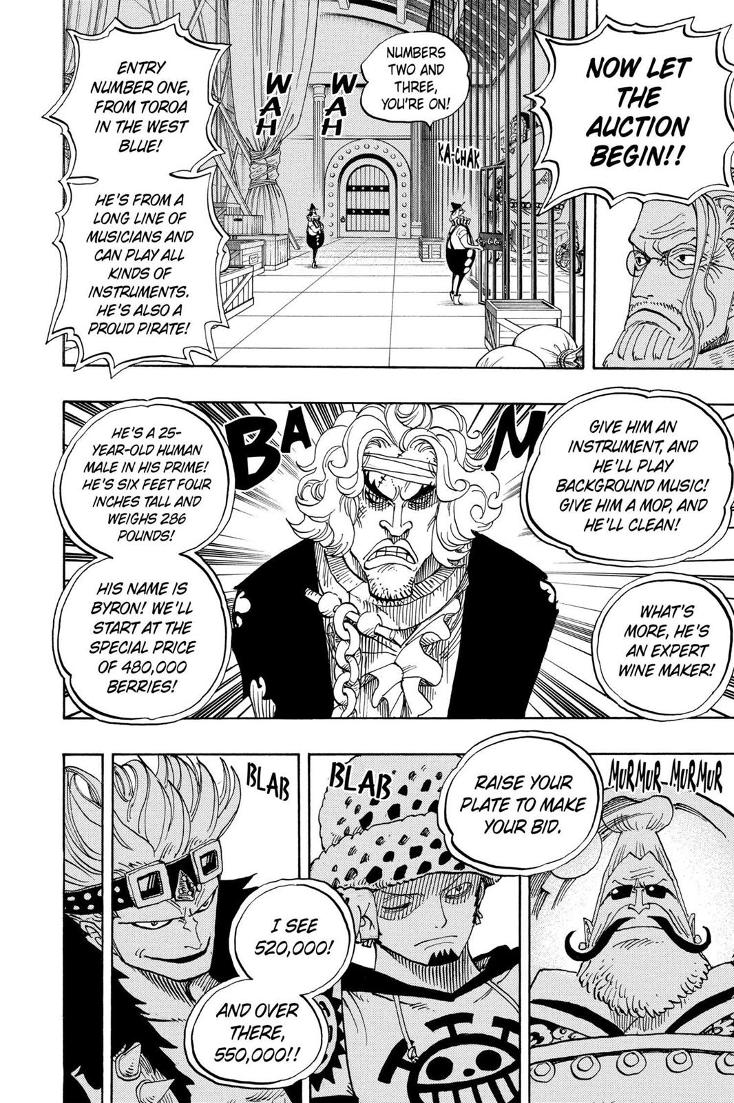 One Piece, Chapter 501 image 006
