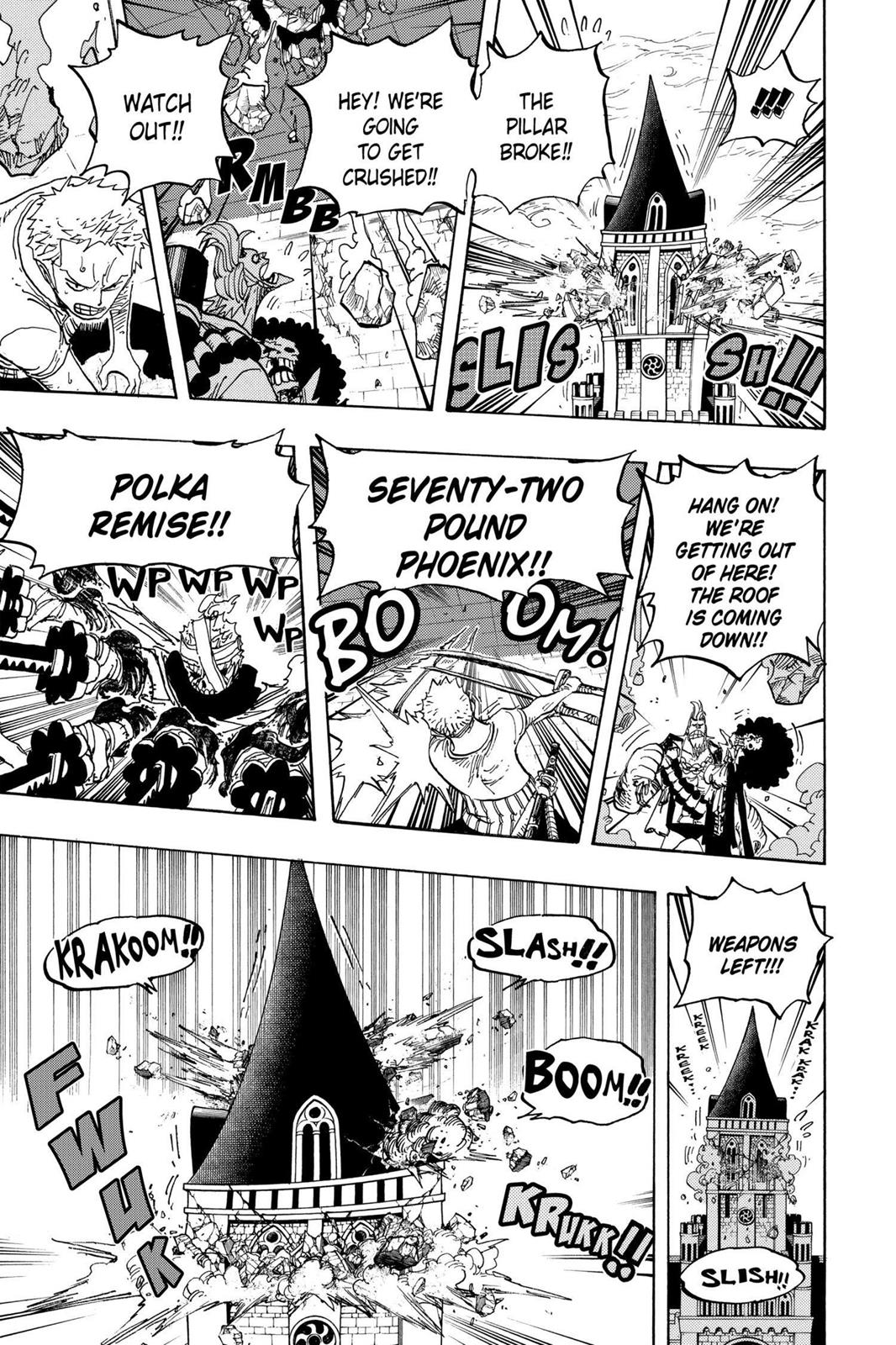One Piece, Chapter 467 image 007