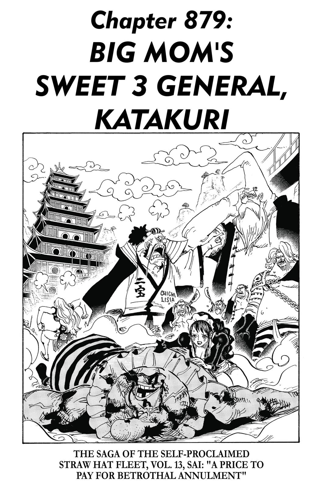 One Piece, Chapter 879 image 001