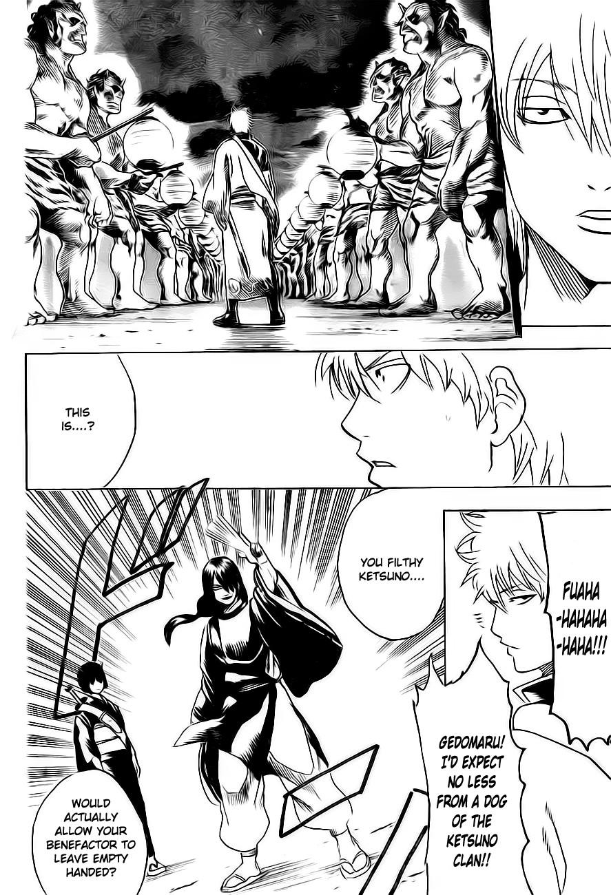 Gintama Chapter, 289 image 016