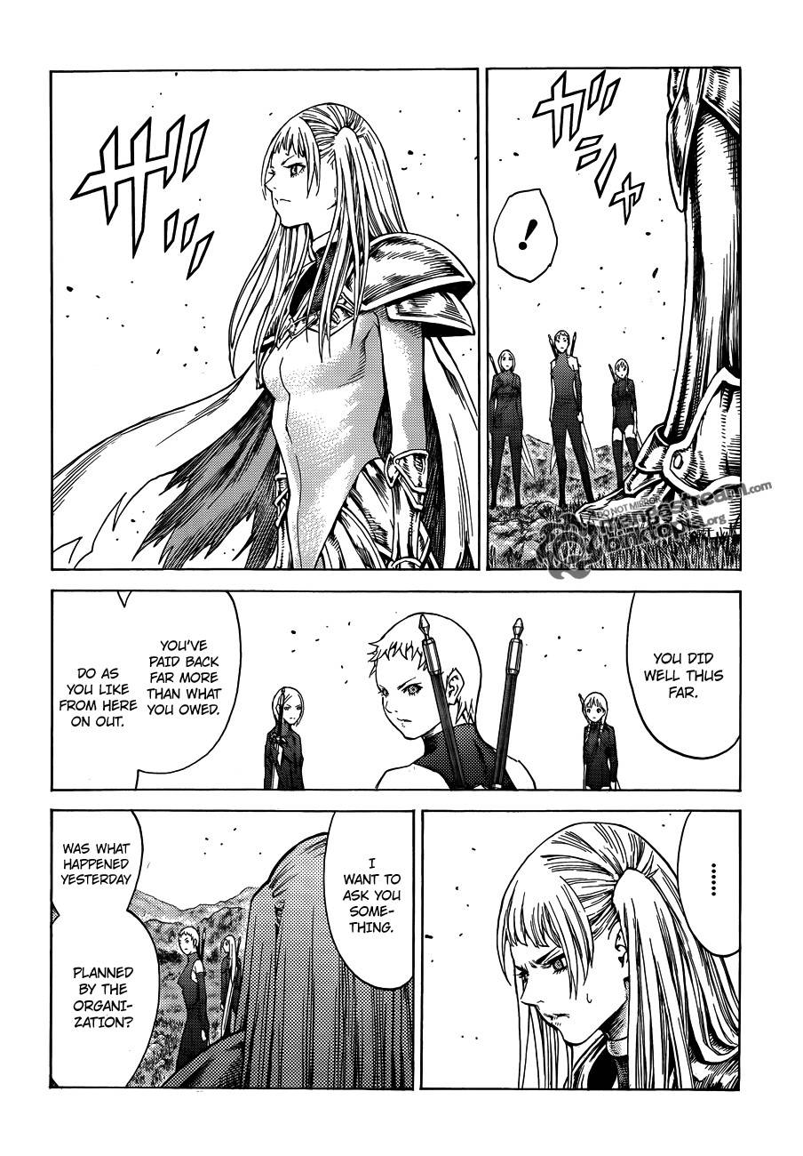 Claymore, Chapter 109 image 025