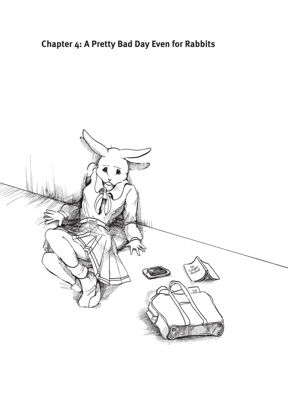 Beastars Manga, Chapter 4 image 001