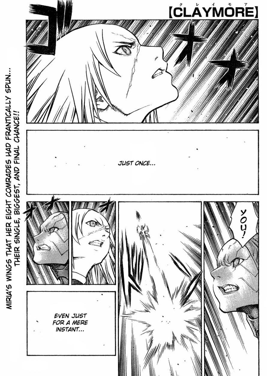Claymore, Chapter 125 image 001