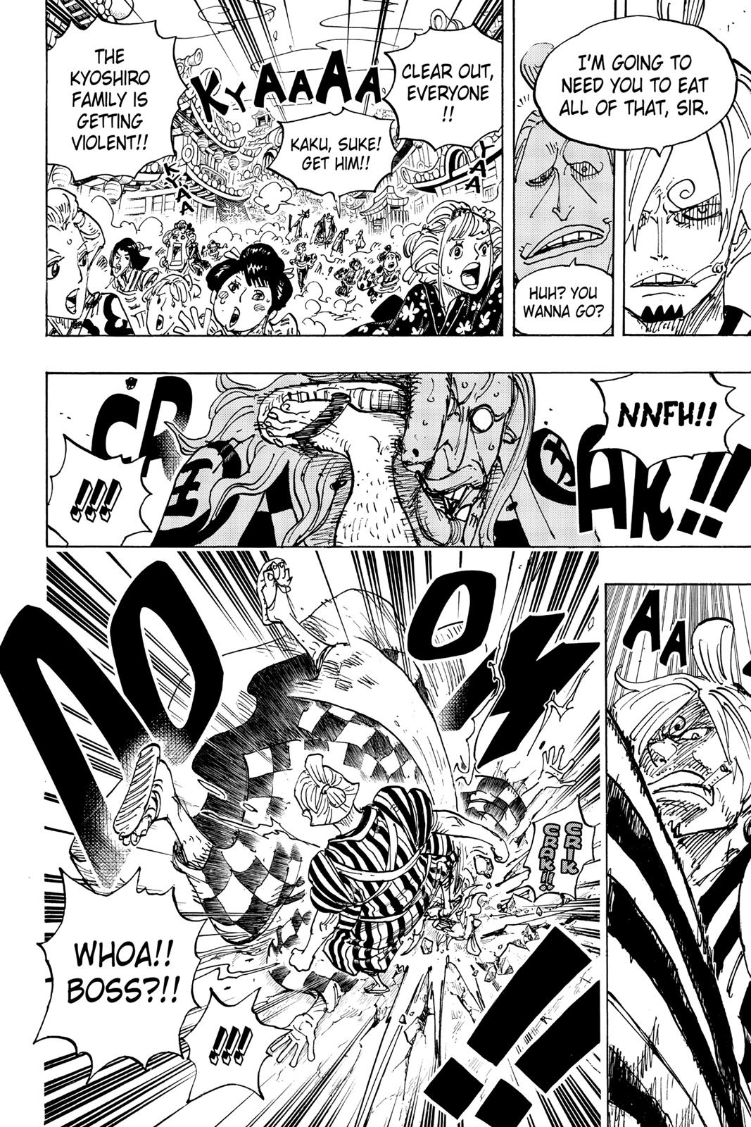 One Piece, Chapter 927 image 006