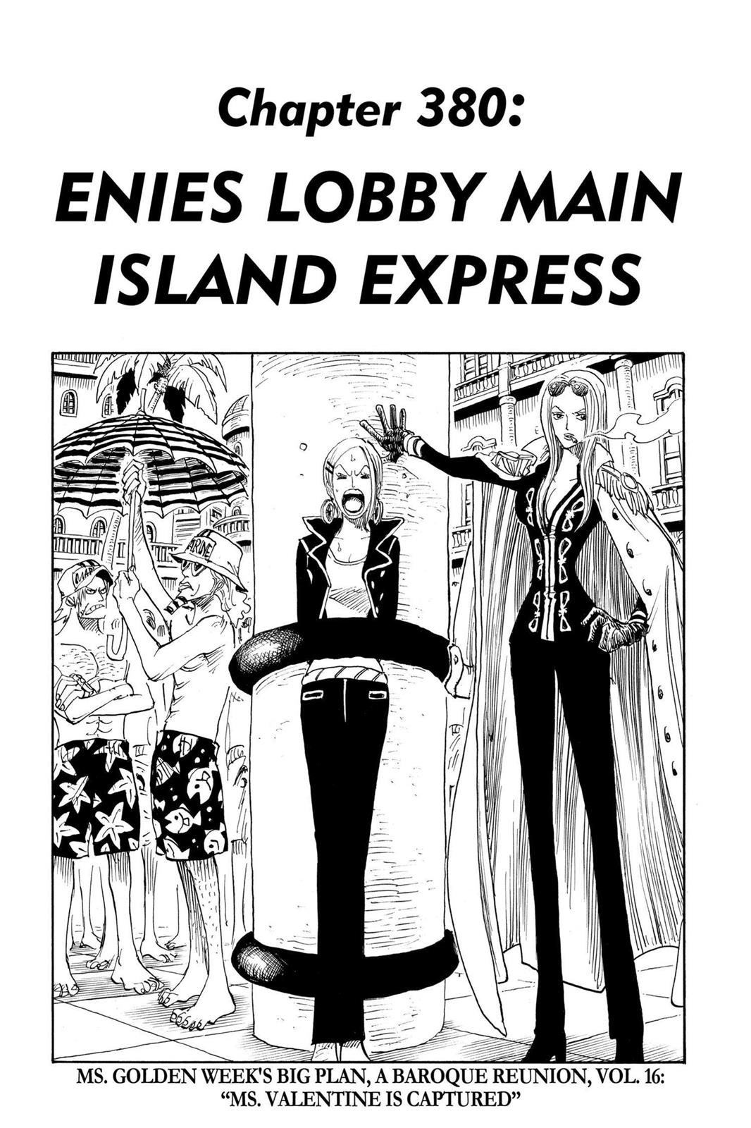 One Piece, Chapter 380 image 001
