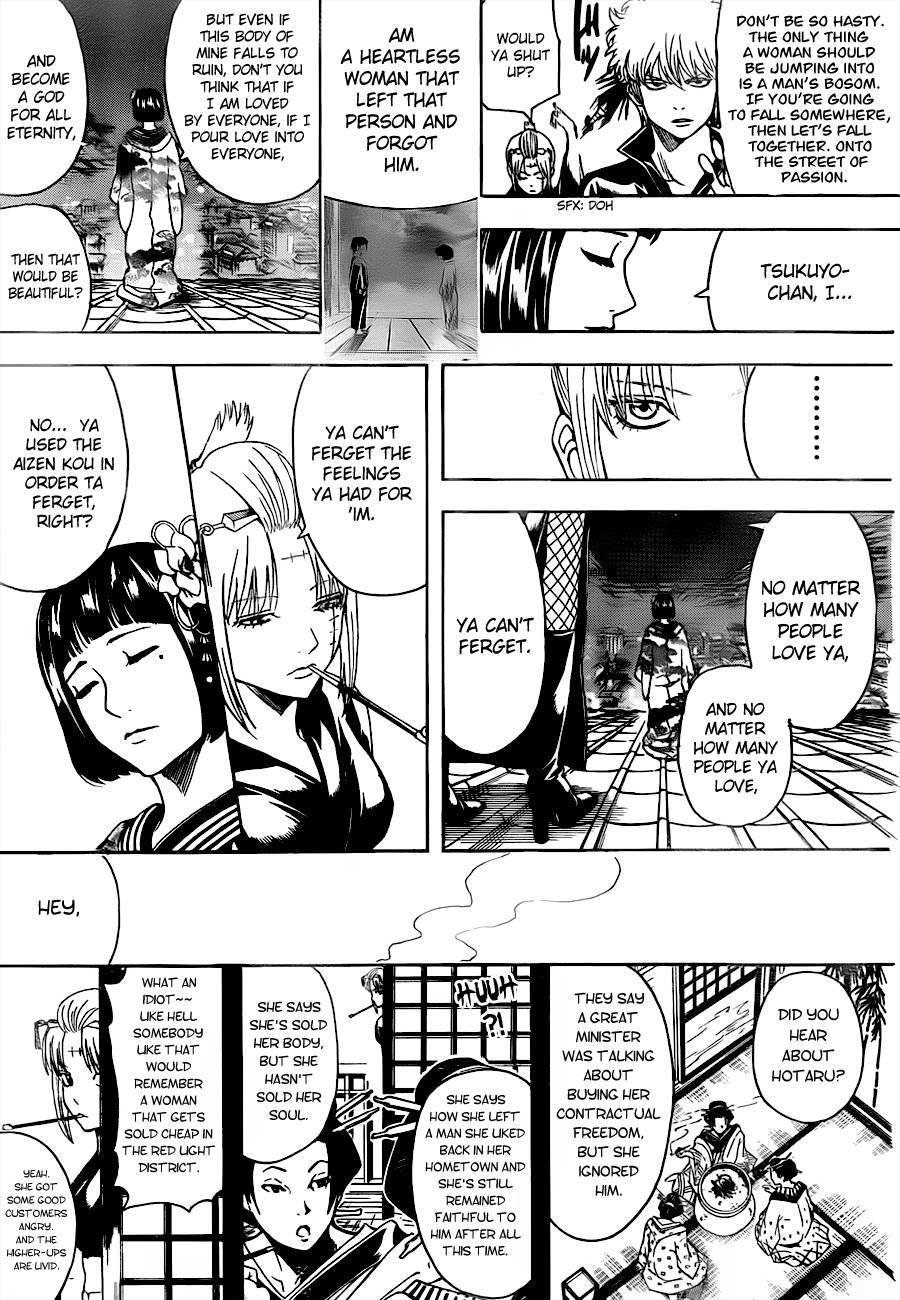 Gintama Chapter, 495 image 009