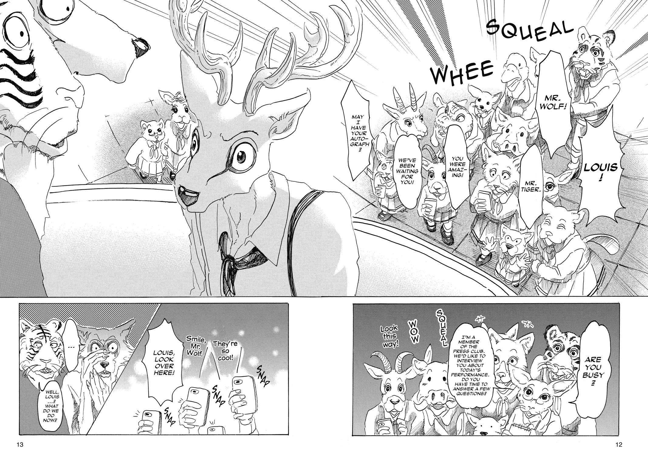 Beastars Manga, Chapter 17 image 012