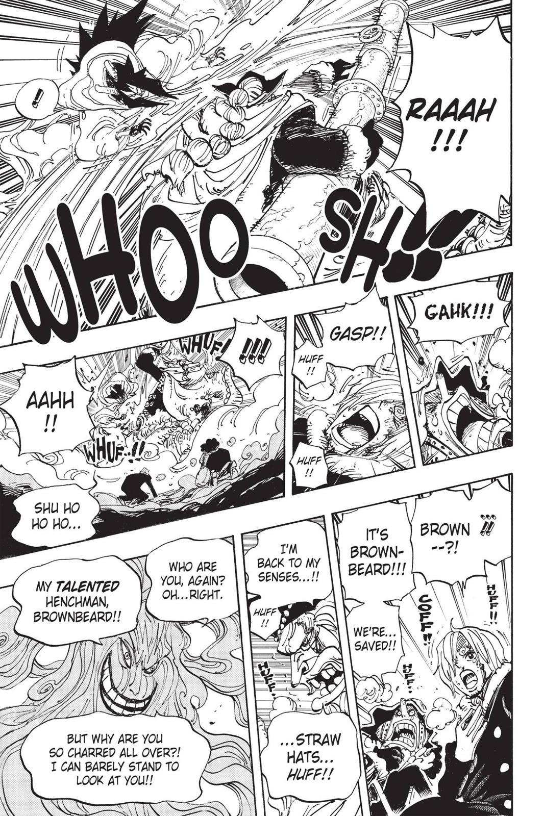 One Piece, Chapter 674 image 011