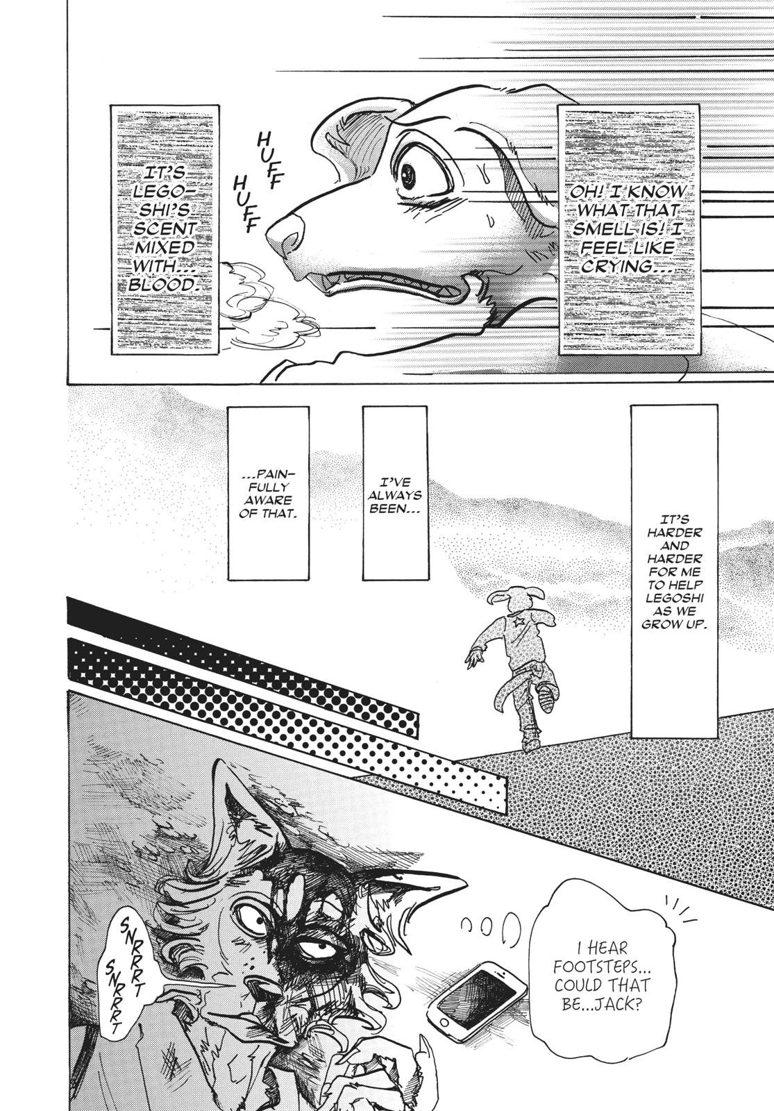 Beastars Manga, Chapter 61 image 004