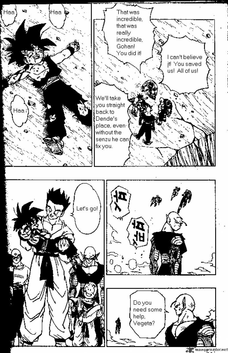Dragon Ball, Chapter 418 image 002