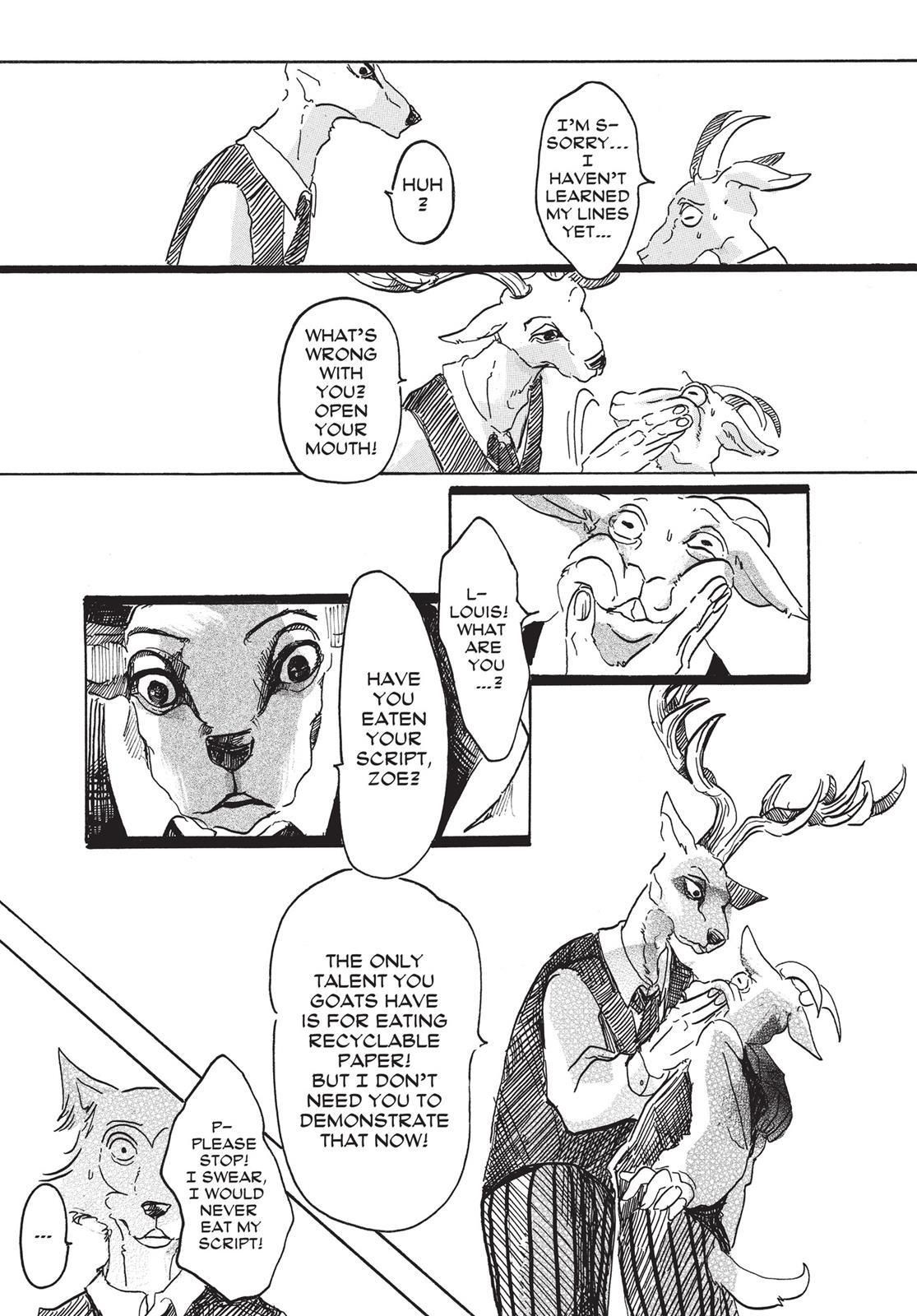 Beastars Manga, Chapter 3 image 011