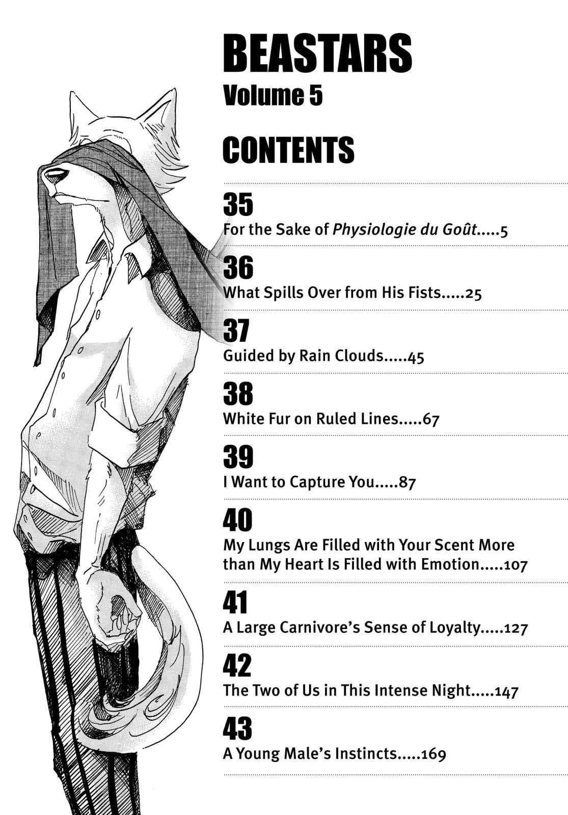 Beastars Manga, Chapter 35 image 004