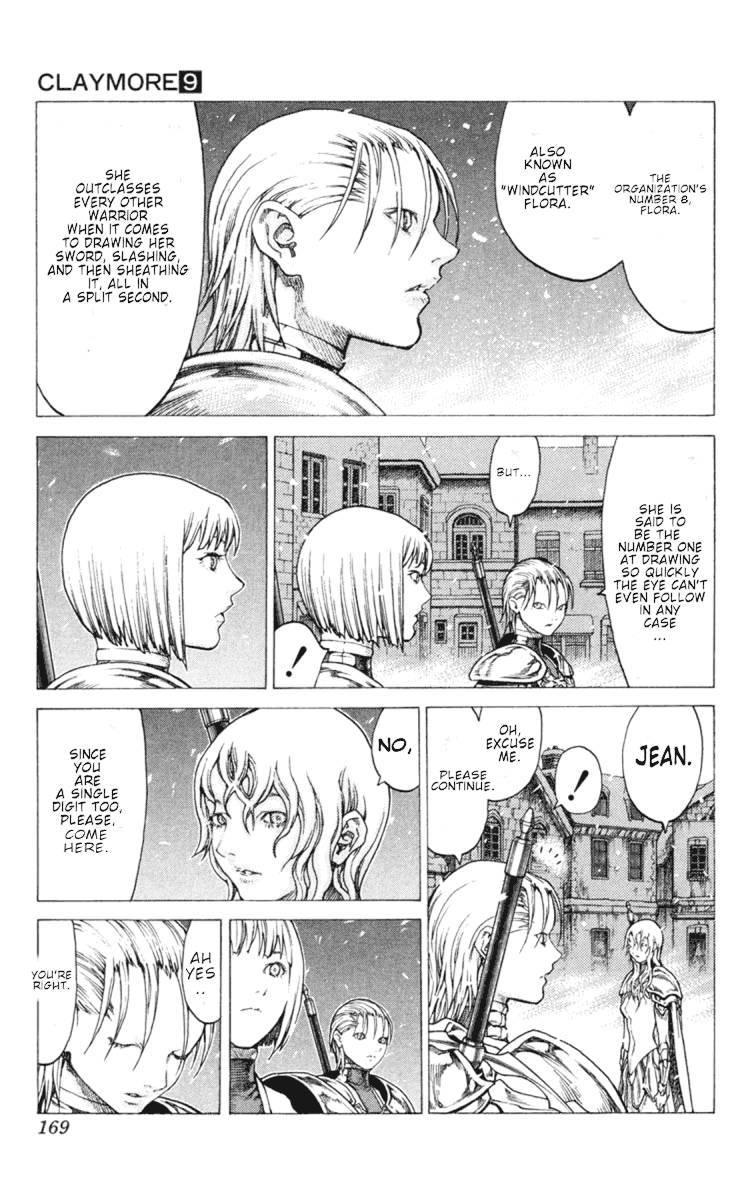 Claymore, Chapter 51 image 011