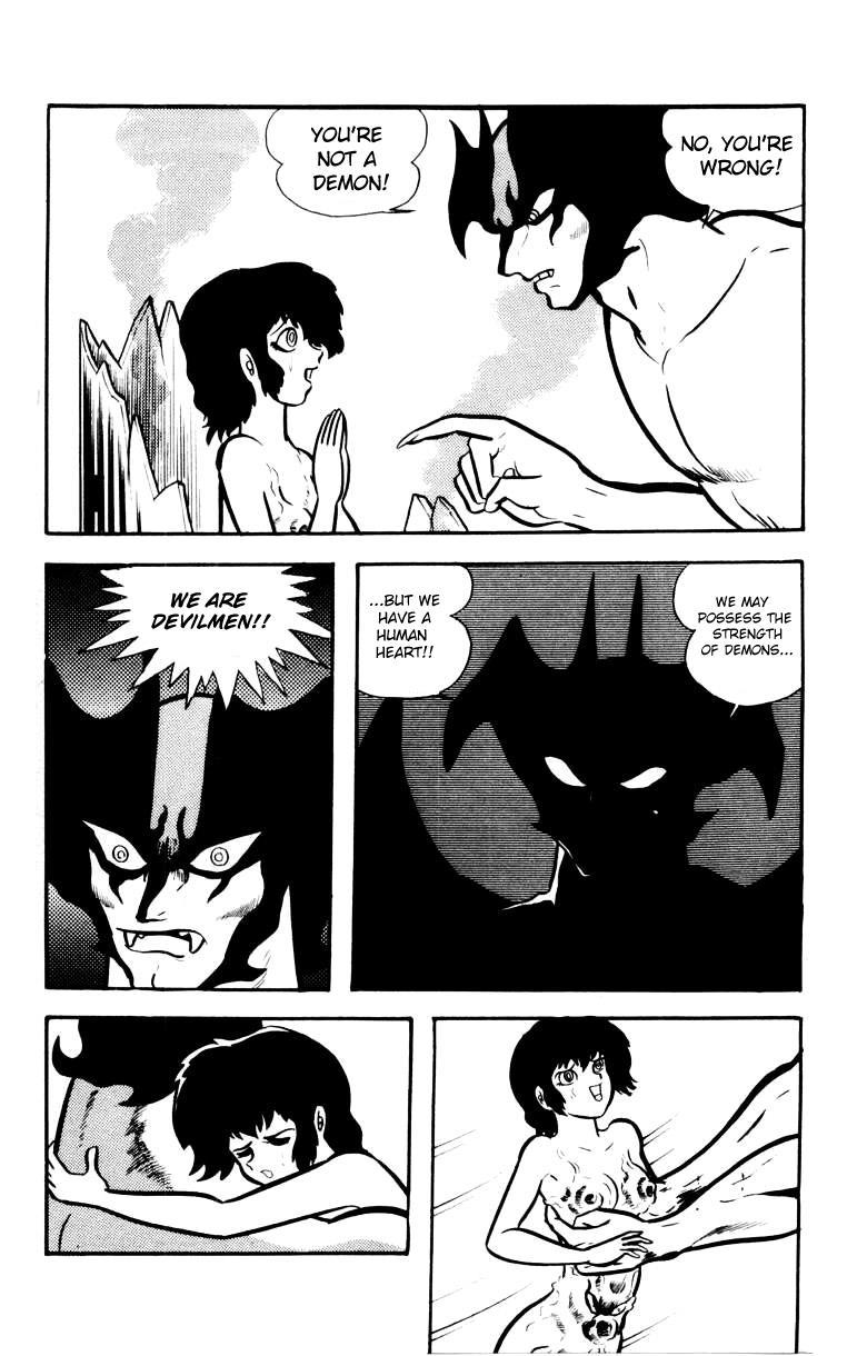 Devilman, Chapter 4 image 189