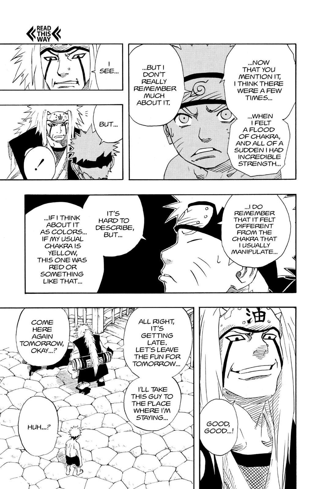 Naruto, Chapter 91 image 022