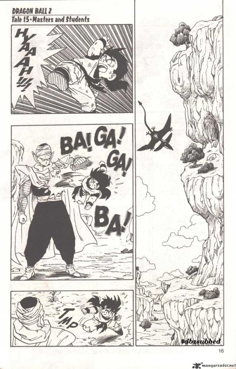 Dragon Ball, Chapter 210 image 001