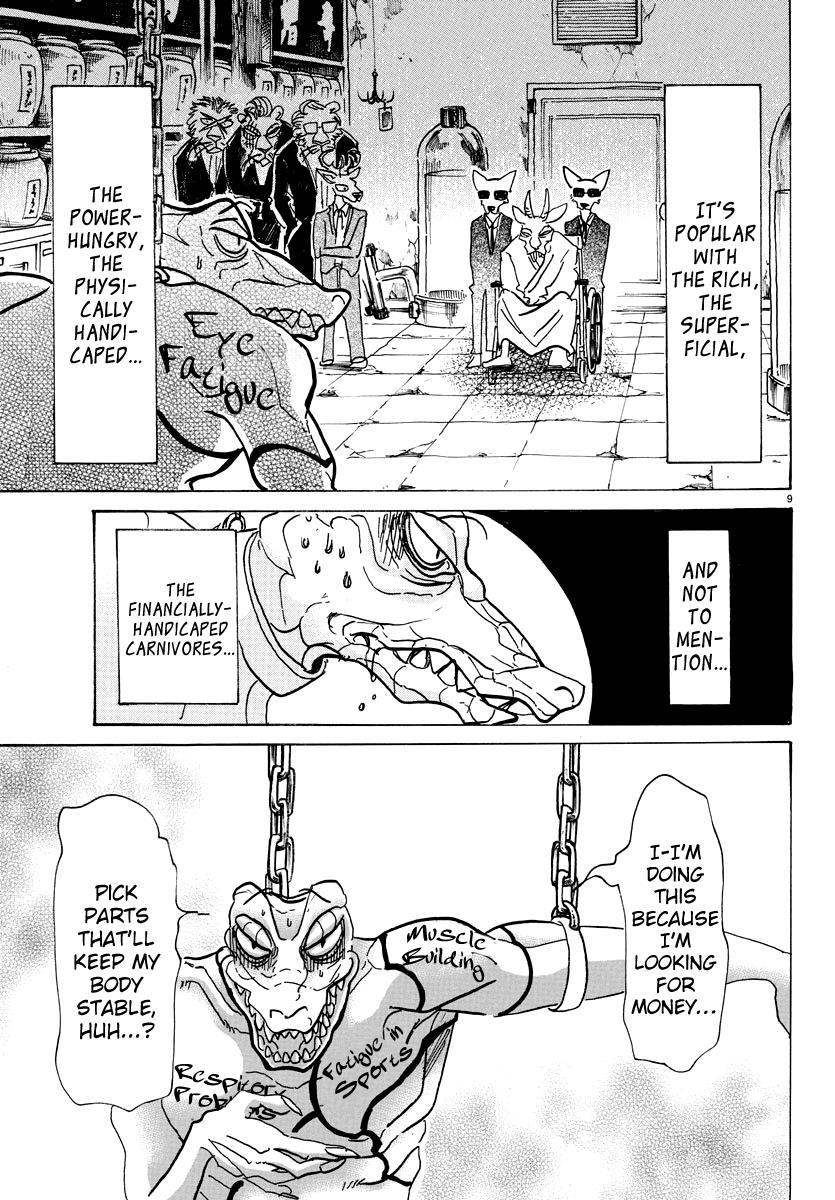 Beastars Manga, Chapter 80 image 010