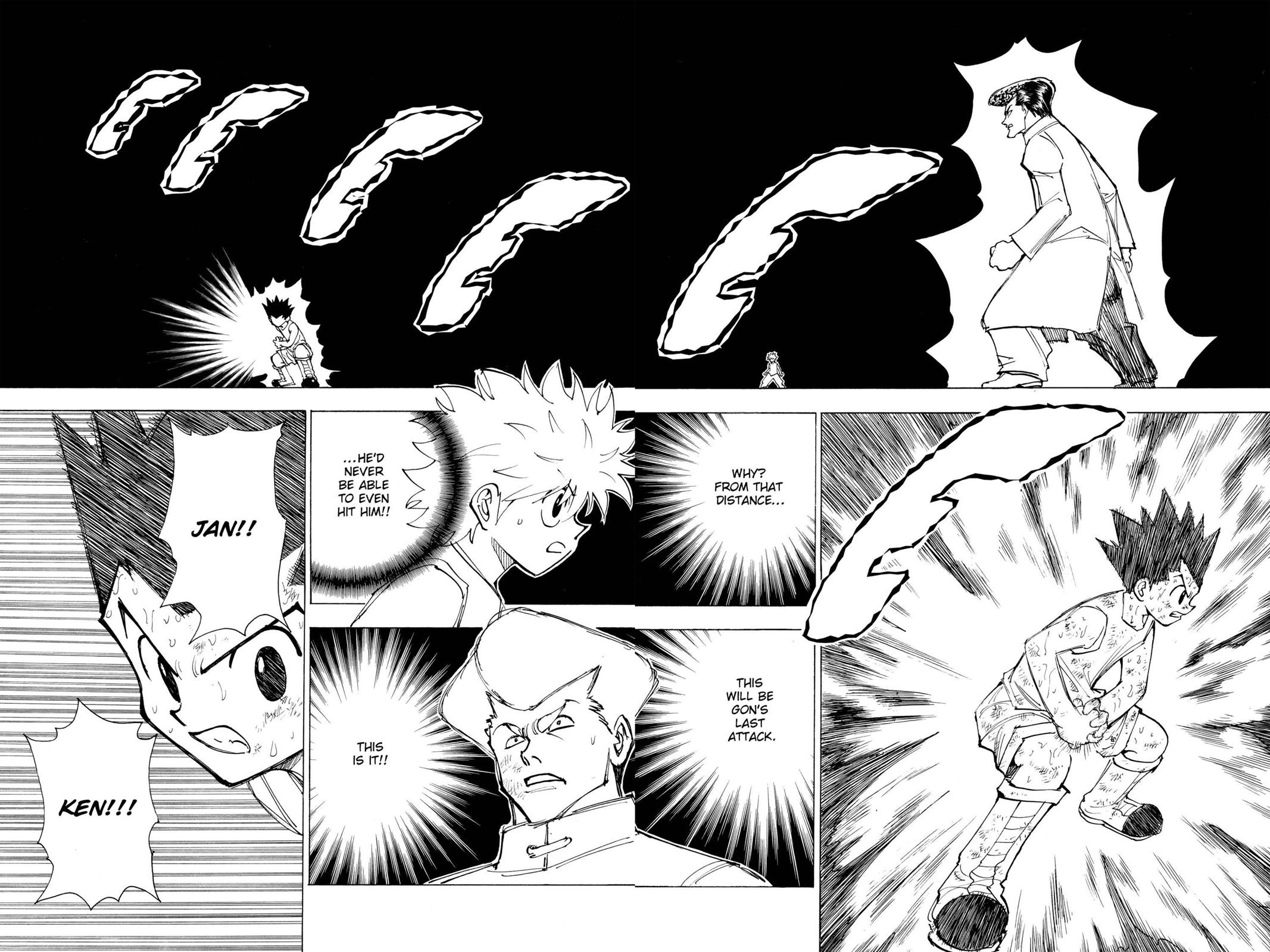 Hunter X Hunter, Chapter 209 image 002