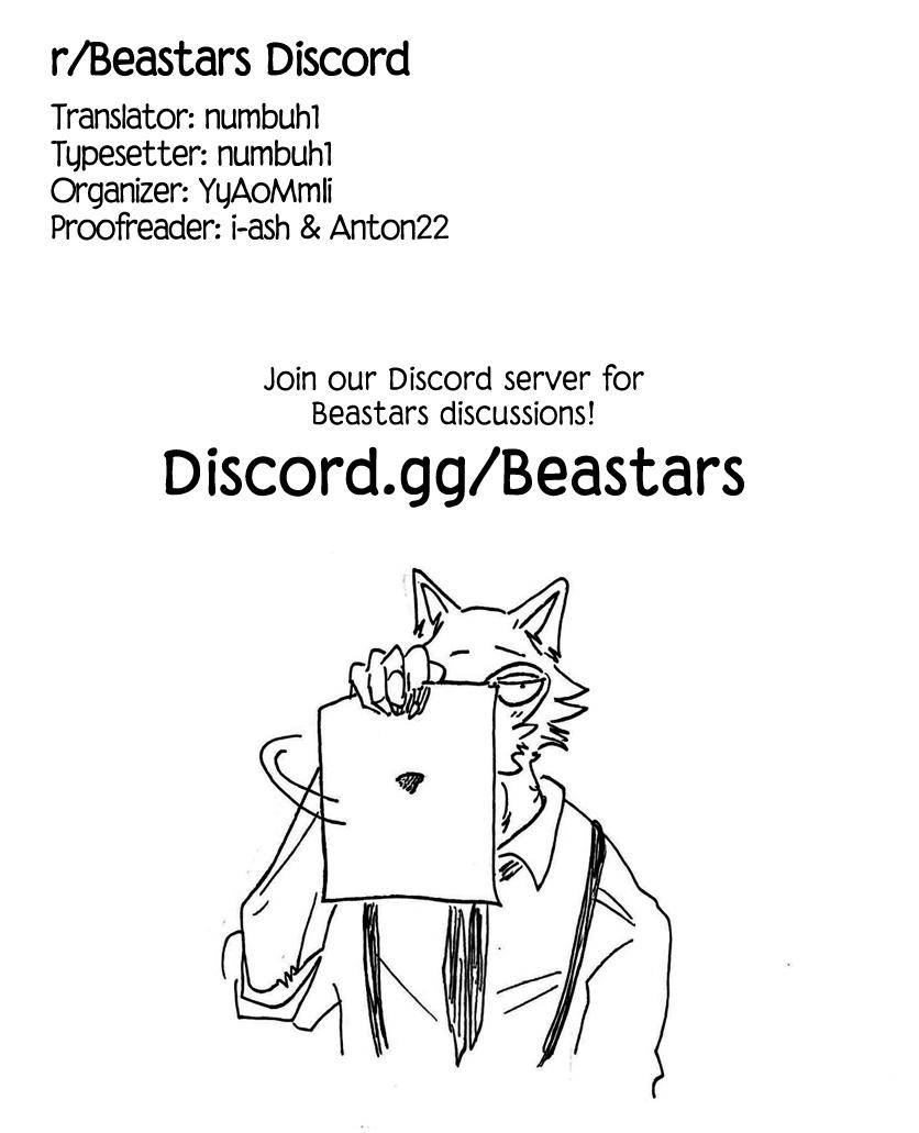 Beastars Manga, Chapter 155 image 021
