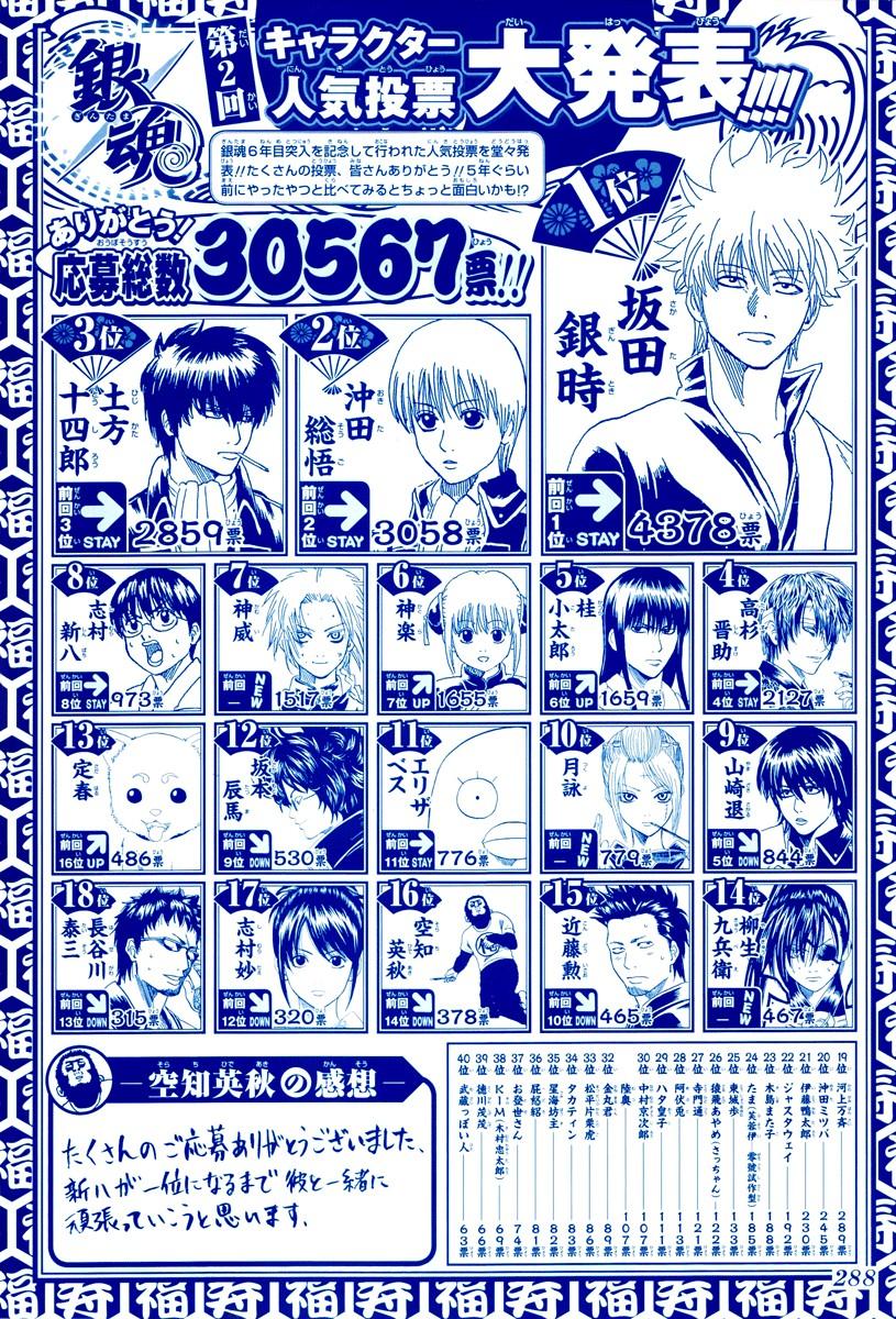 Gintama Chapter, 265 image 003
