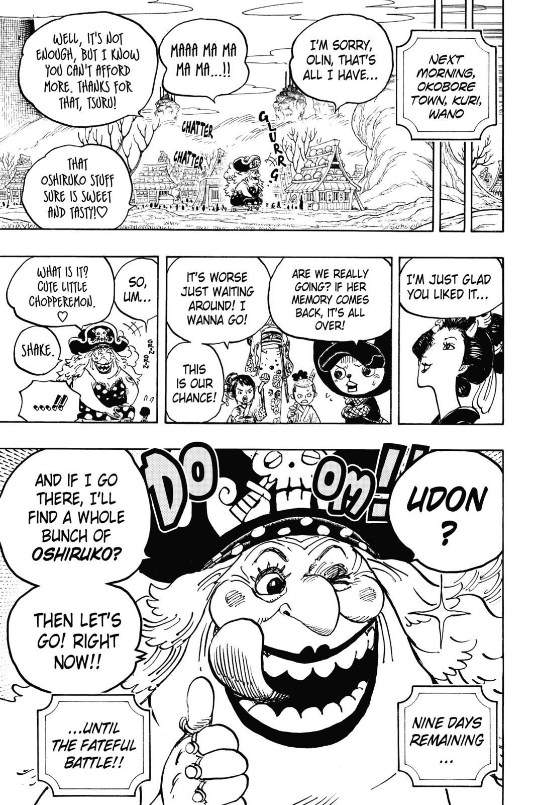 One Piece, Chapter 933 image 017