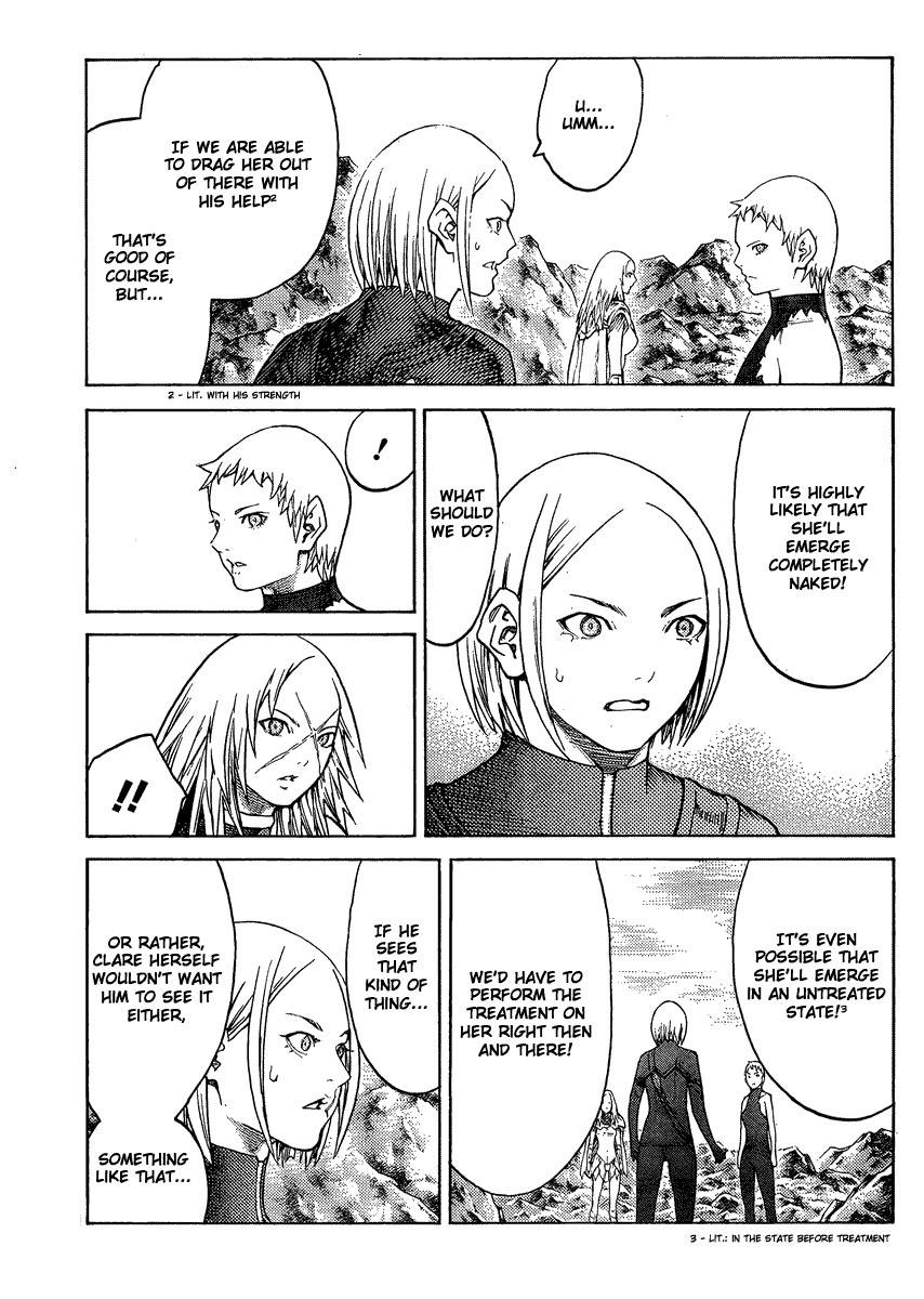 Claymore, Chapter 127 image 020