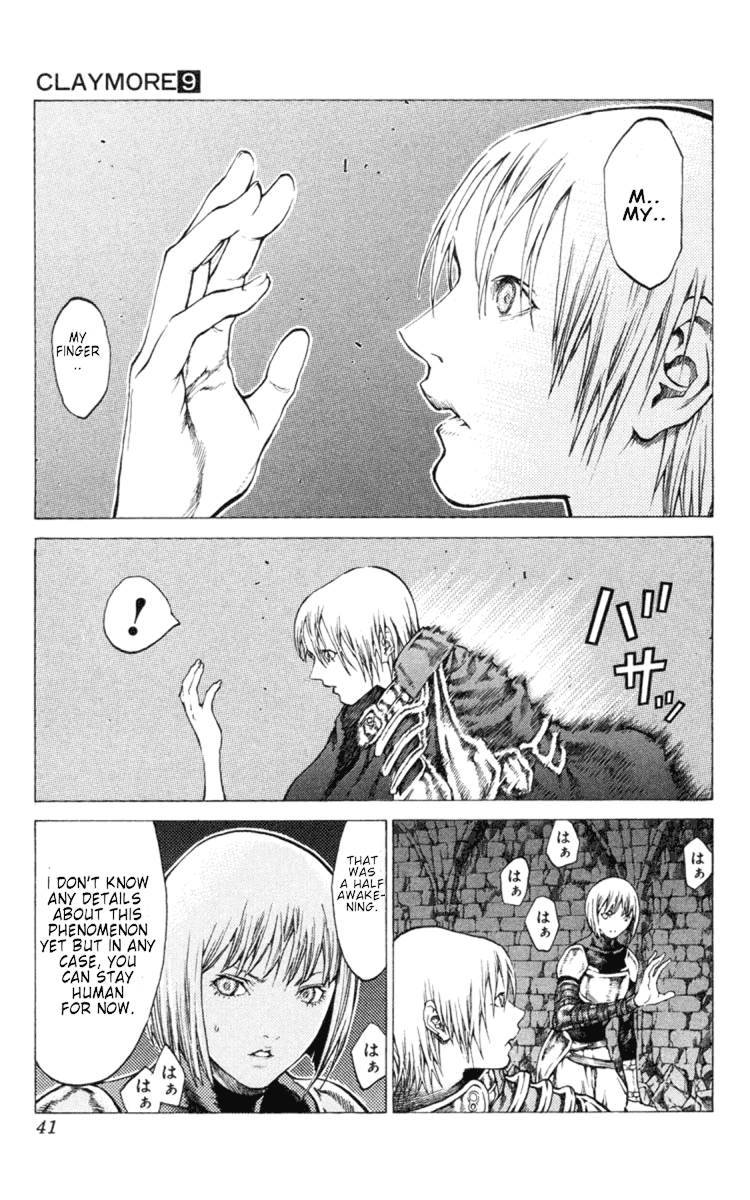 Claymore, Chapter 47 image 003