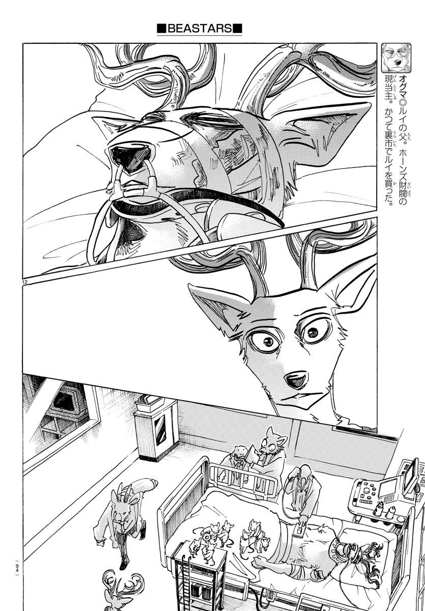 Beastars Manga, Chapter 165 image 011