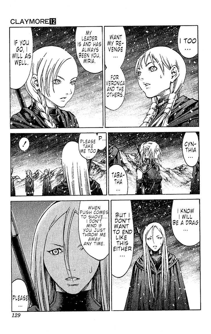 Claymore, Chapter 67 image 025