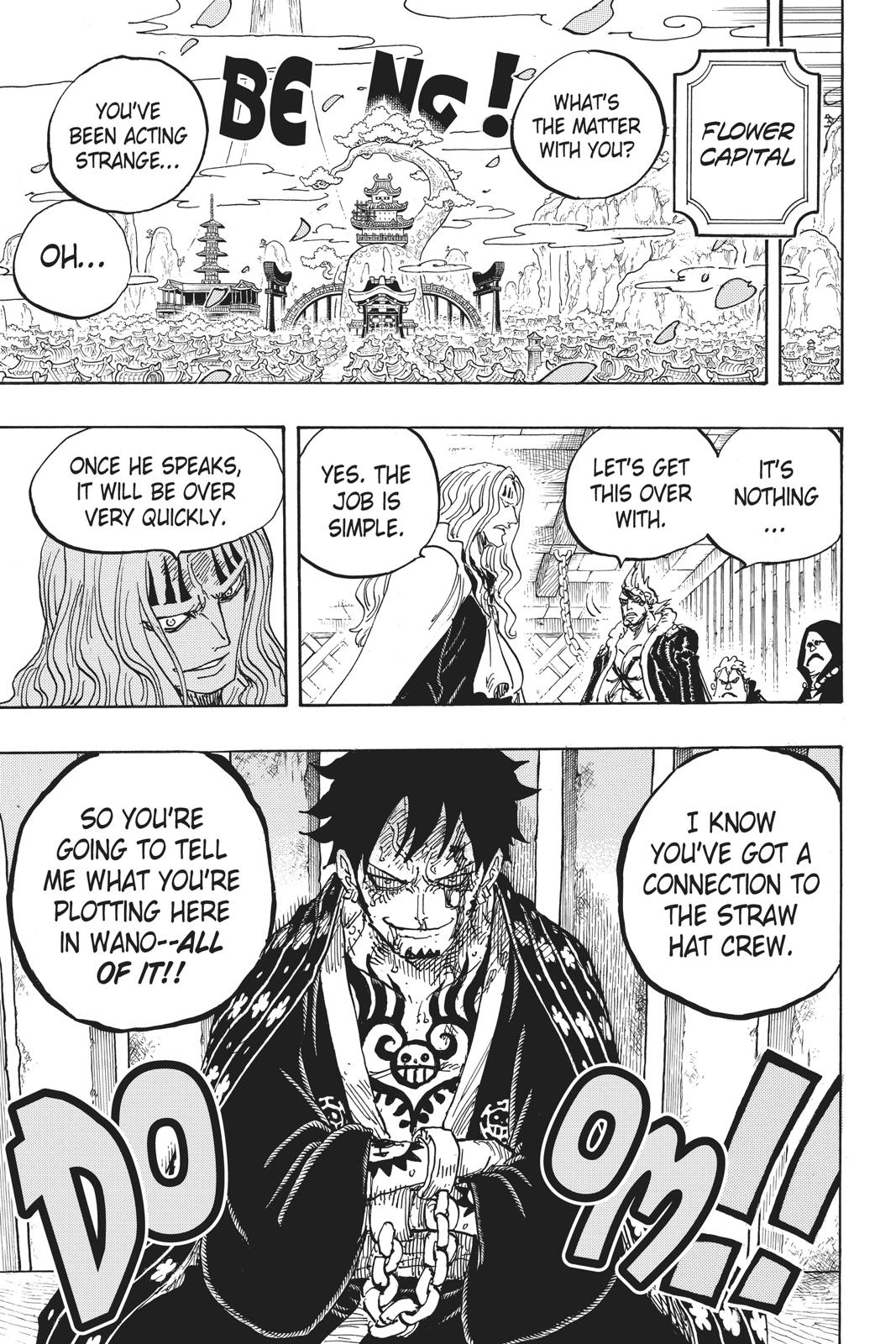 One Piece, Chapter 951 image 001