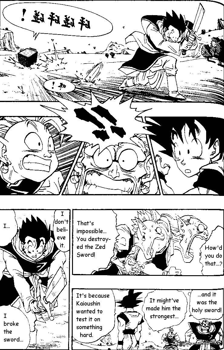 Dragon Ball, Chapter 480 image 004