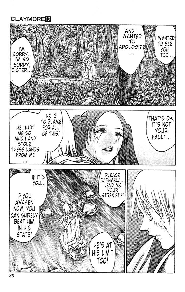 Claymore, Chapter 64 image 034