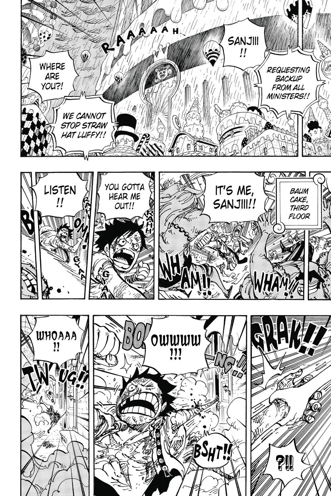 One Piece, Chapter 853 image 010