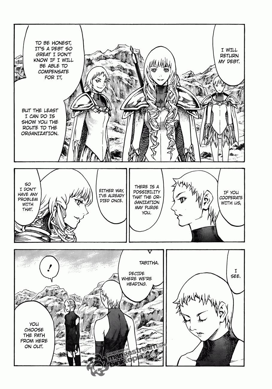 Claymore, Chapter 112 image 030
