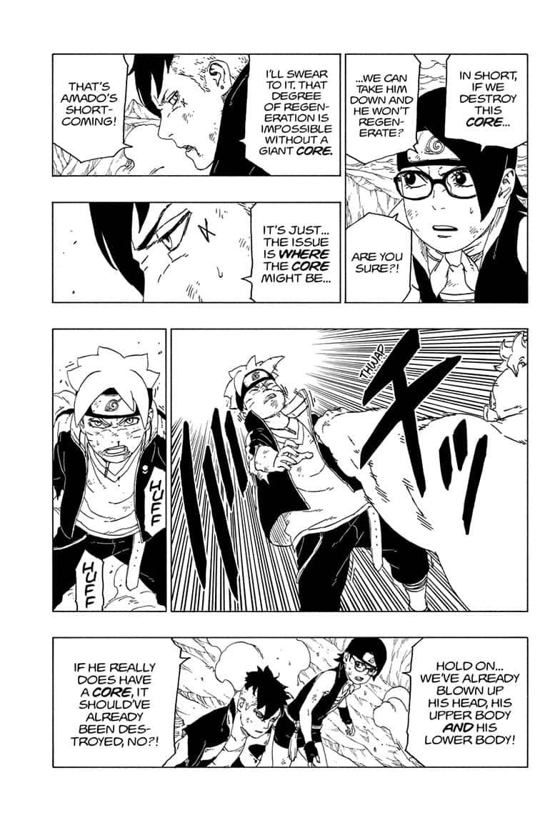 Boruto Manga, Chapter 42 image 026