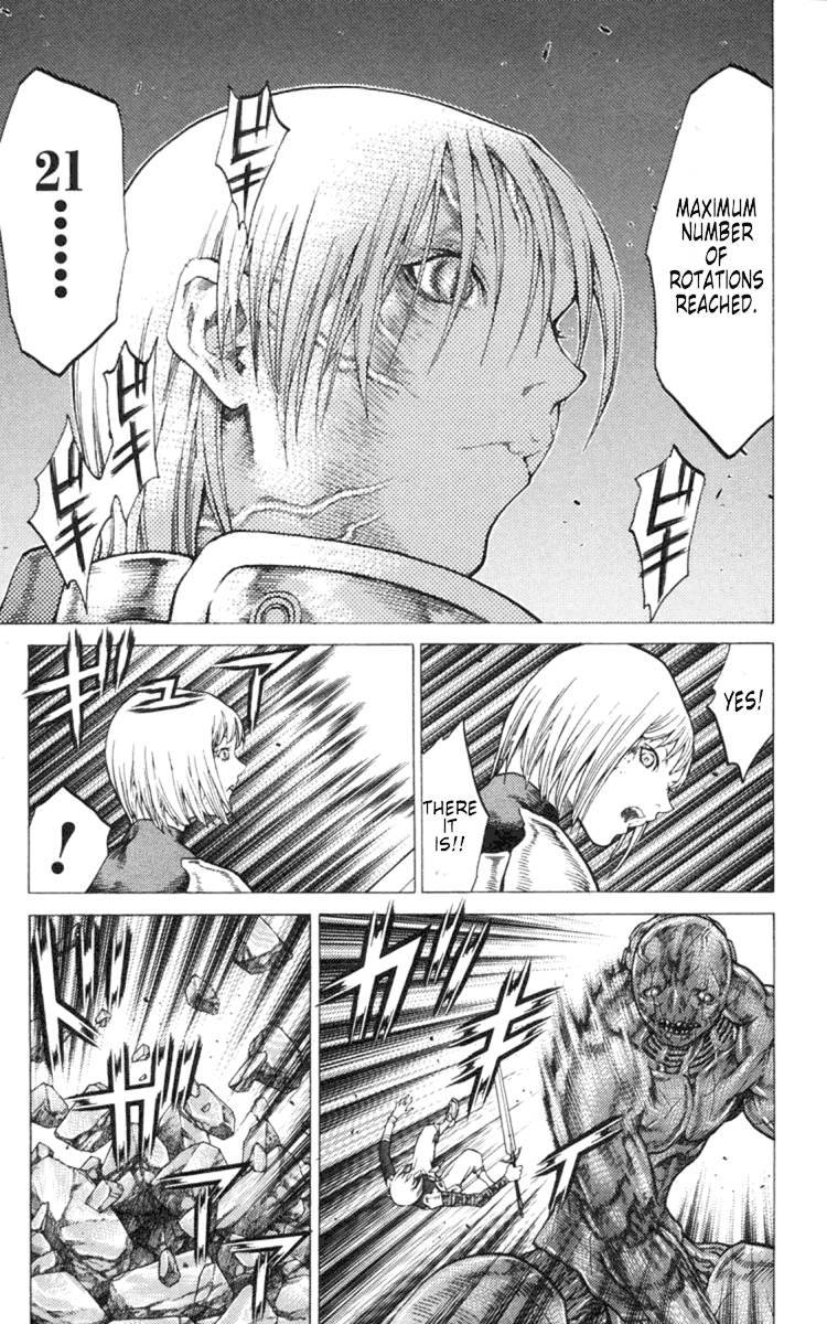 Claymore, Chapter 48 image 009